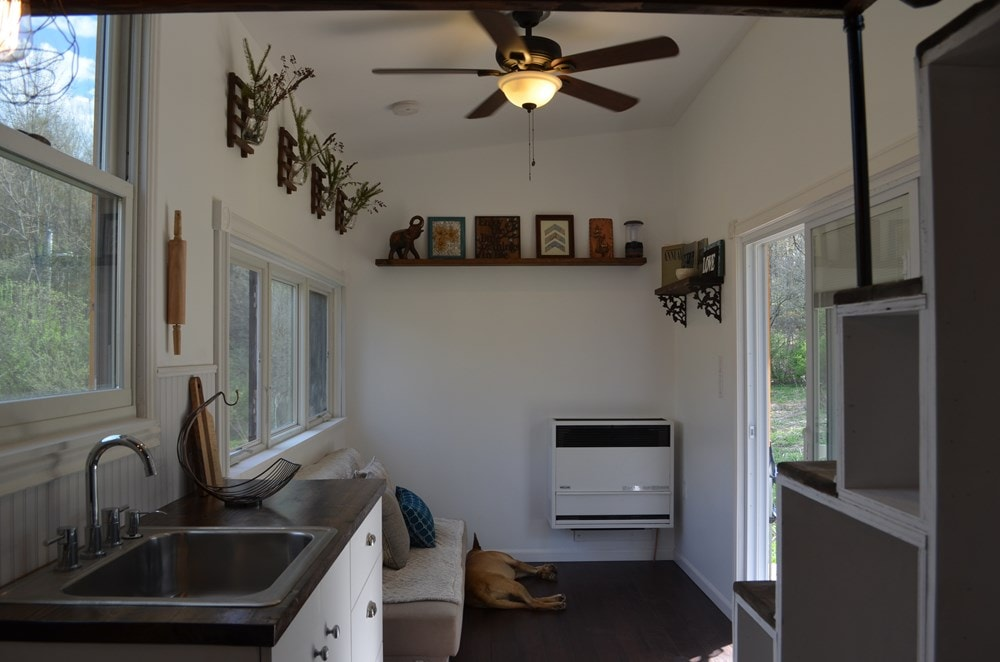 ***PENDING***   Beautiful 25ft Tiny House on Wheels for Sale in Upstate New York - Slide 1