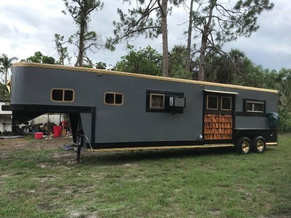 Beautiful tiny home/gypsy trailer  - Slide 1