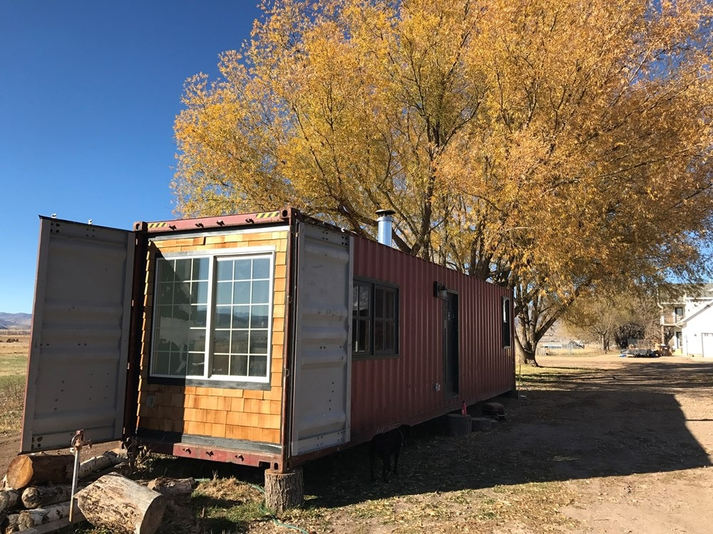Quaint Shipping Container Home  - Slide 1
