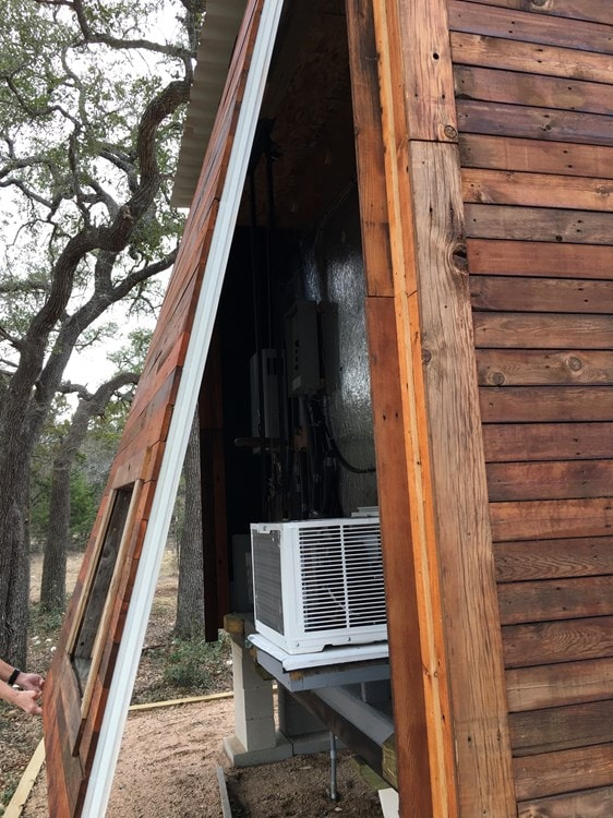 Tiny House 12x16 w reclaimed Wood & modern SIP Constructed w Clever Innovations - Slide 3