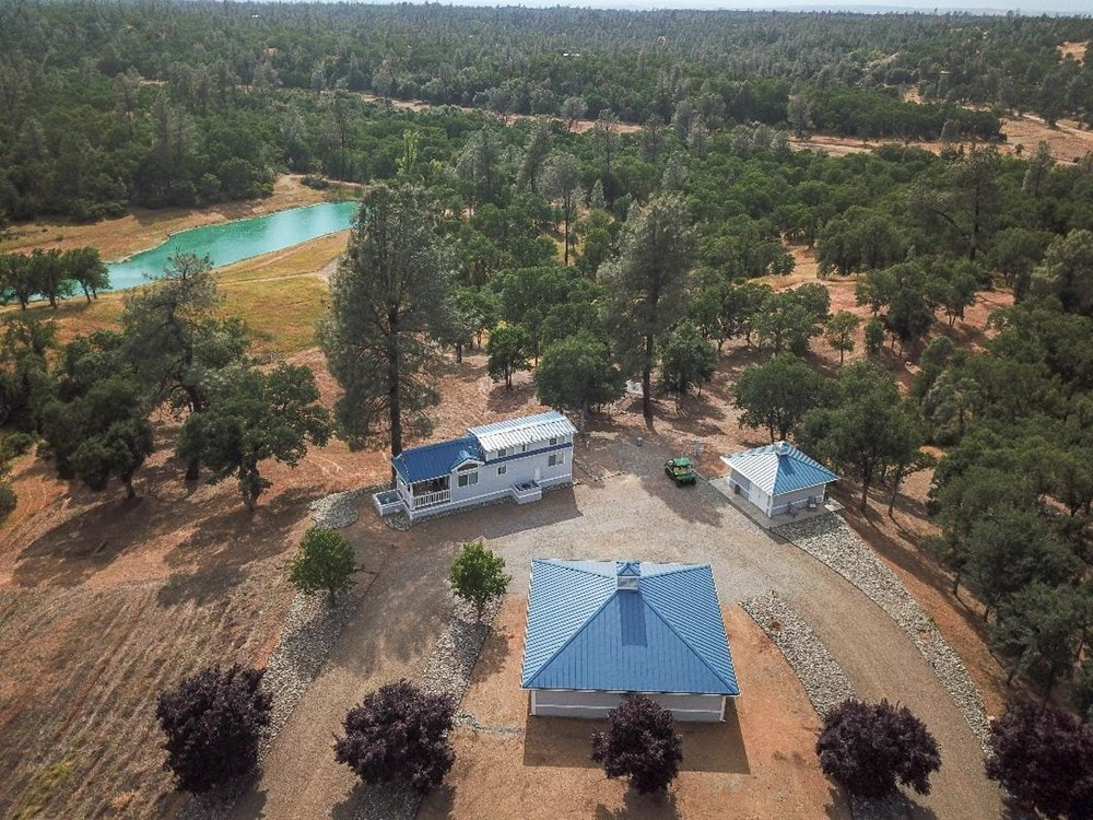 Cottonwood, CA home w/ 39 acres & pond (cash buyers only) - Slide 1