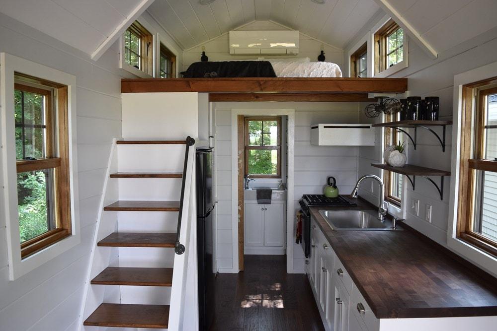 New Farmhouse Style 8'X20' Tiny House on Wheels - Slide 4