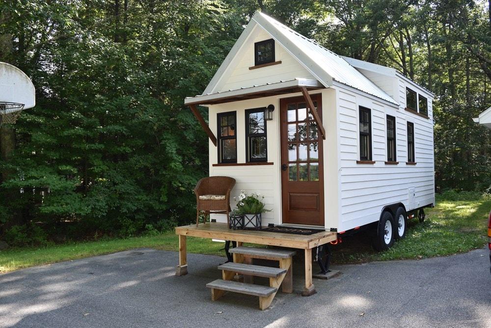 New Farmhouse Style 8'X20' Tiny House on Wheels - Slide 1
