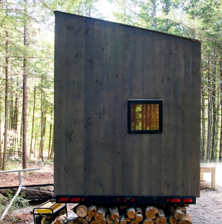 Custom-built Tiny house in NH with minimalist interior design - Slide 7