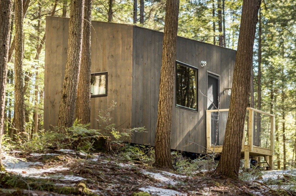 Custom-built Tiny house in NH with minimalist interior design - Slide 8