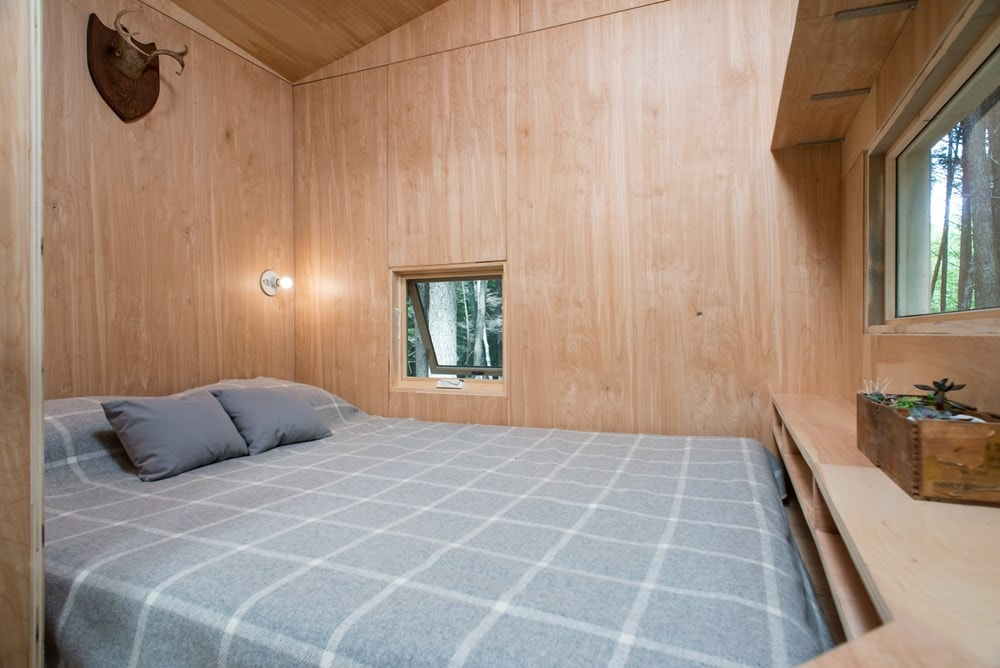 Custom-built Tiny house in NH with minimalist interior design - Slide 3