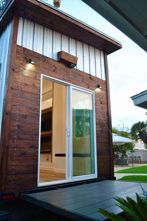 Steel Framed 24' Custom Modern Tiny Home - Slide 2