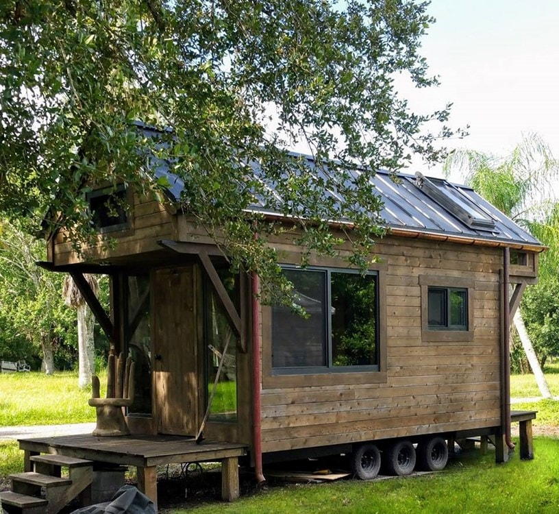 Custom Craftsman Style Artistic Tiny House on Wheels(Almost Ready!) (Florida) - Slide 2