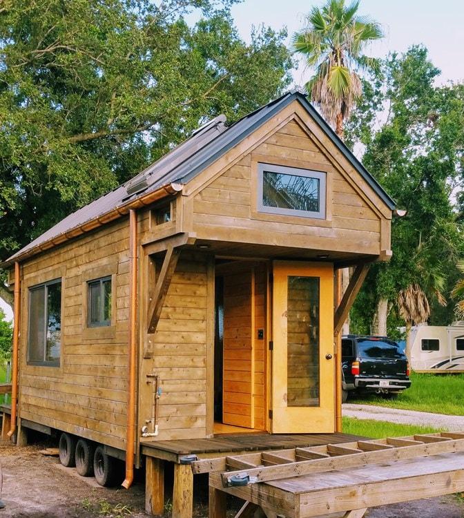 Custom Craftsman Style Artistic Tiny House on Wheels(Almost Ready!) (Florida) - Slide 3