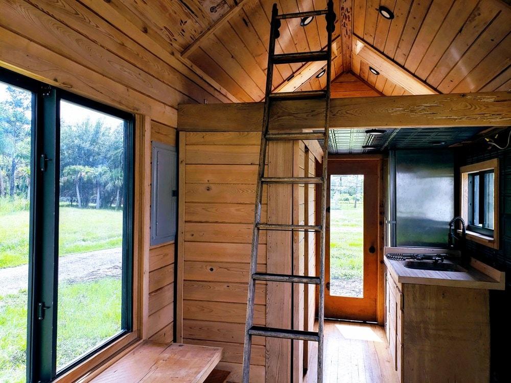 Custom Craftsman Style Artistic Tiny House on Wheels(Almost Ready!) (Florida) - Slide 10