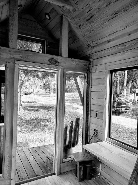Custom Craftsman Style Artistic Tiny House on Wheels(Almost Ready!) (Florida) - Slide 9