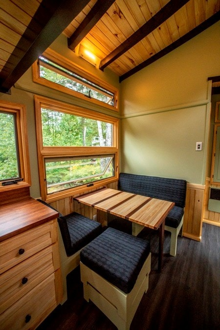 25 foot Tiny House on wheels with screened in porch - Slide 5