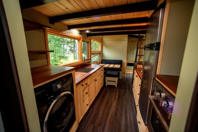 25 foot Tiny House on wheels with screened in porch - Slide 6