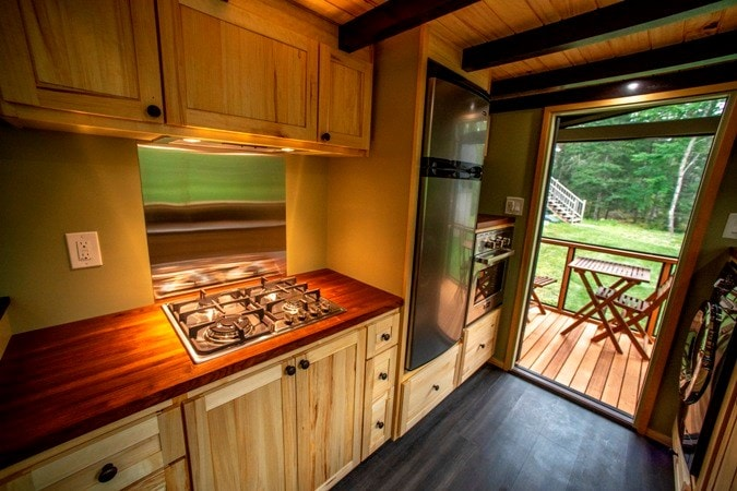 25 foot Tiny House on wheels with screened in porch - Slide 8