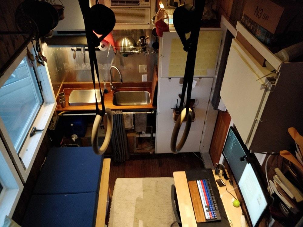 Off-grid ready, tech-friendly 16' custom tiny home - Slide 7