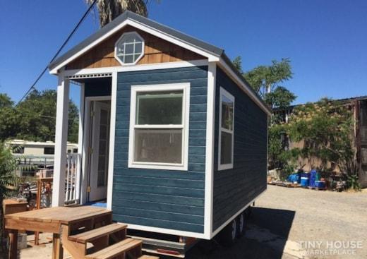 24' Beach Bungalow Tiny Home on Wheels