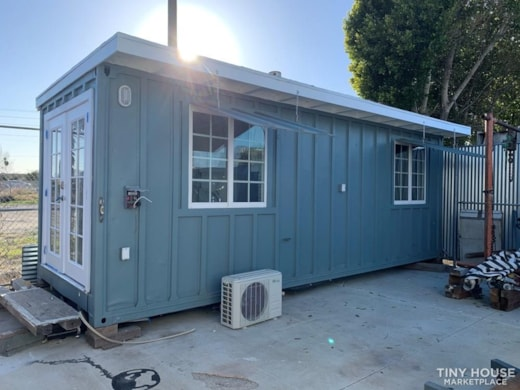 24 ft Shipping container turned into tiny house