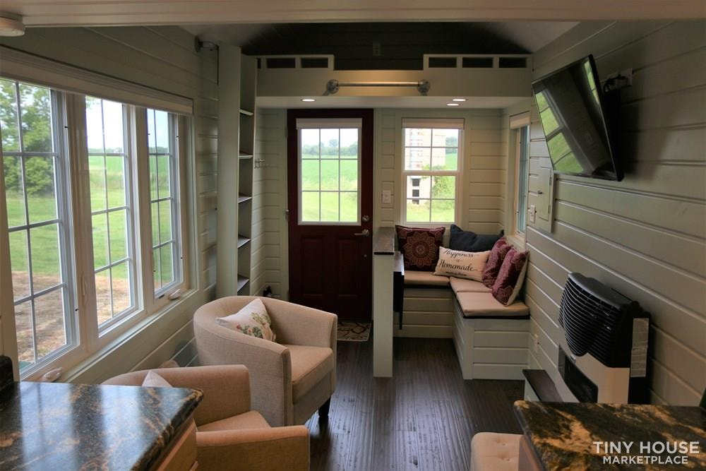 24 ft Tiny House on Trailer - Professionally Built and Third Party Inspected - Slide 1
