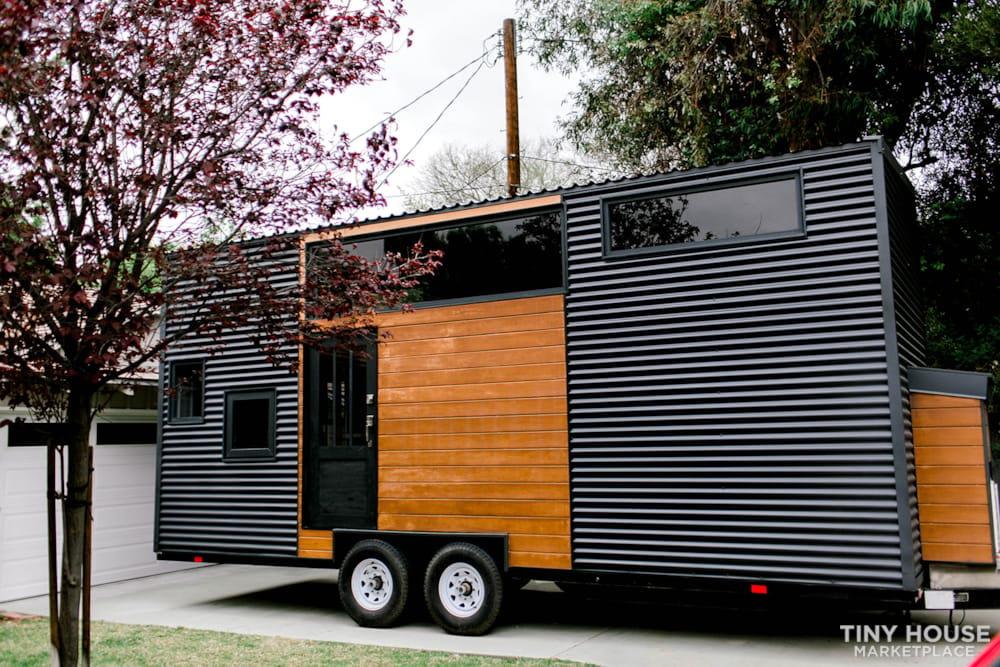24x8 Luxury Tiny Home on Wheels - Tiny Topanga - Slide 1