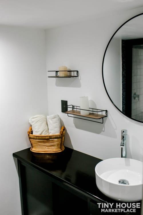 24x8 Luxury Tiny Home on Wheels - Tiny Topanga - Slide 3