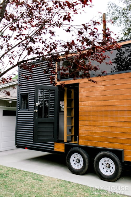 24x8 Luxury Tiny Home on Wheels - Tiny Topanga - Slide 5