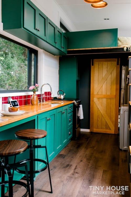 24x8 Luxury Tiny Home on Wheels - Tiny Topanga - Slide 11