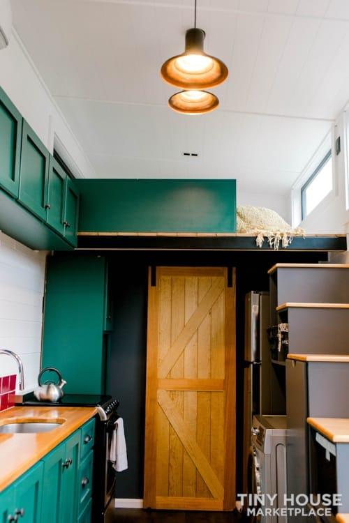 24x8 Luxury Tiny Home on Wheels - Tiny Topanga - Slide 12