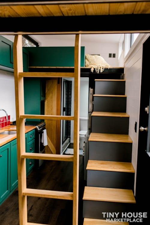 24x8 Luxury Tiny Home on Wheels - Tiny Topanga - Slide 15