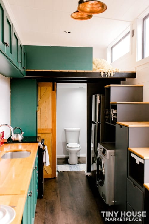 24x8 Luxury Tiny Home on Wheels - Tiny Topanga - Slide 17