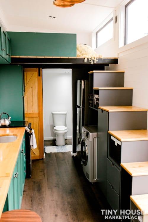 24x8 Luxury Tiny Home on Wheels - Tiny Topanga - Slide 18
