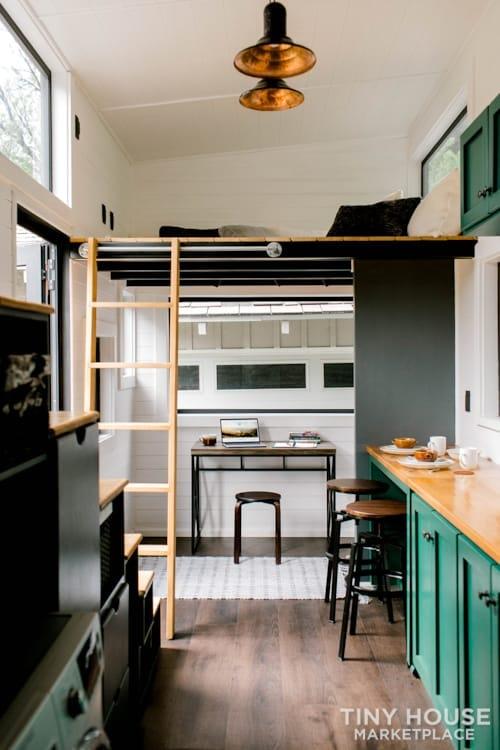 24x8 Luxury Tiny Home on Wheels - Tiny Topanga - Slide 19