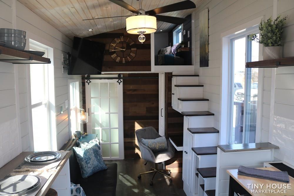 26' Smart Tiny Home on Wheeles - Slide 1