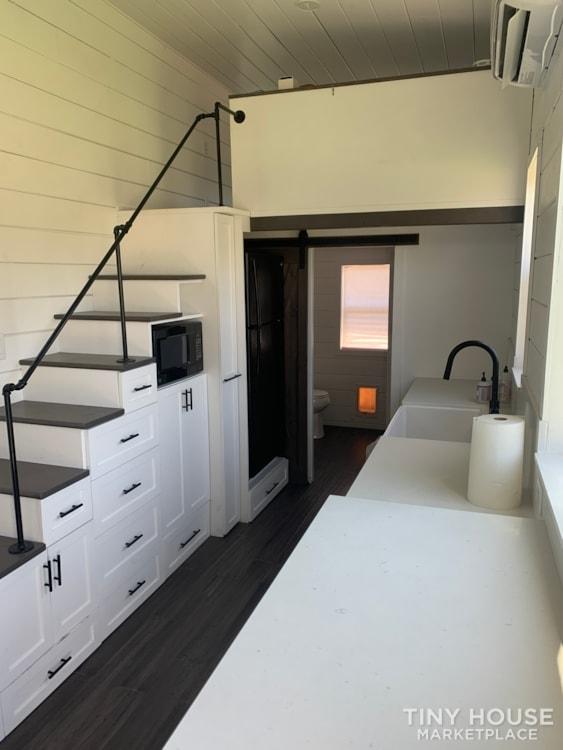 26ft Modern Farm Tiny House on Wheels - Slide 8