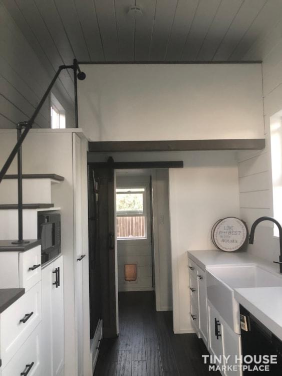 26ft Modern Farm Tiny House on Wheels - Slide 10