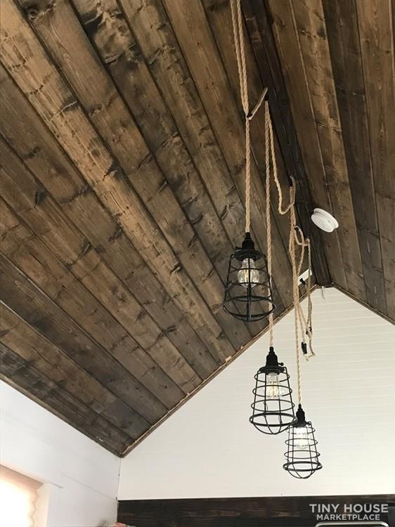 28' double loft farmhouse THOW - Slide 9