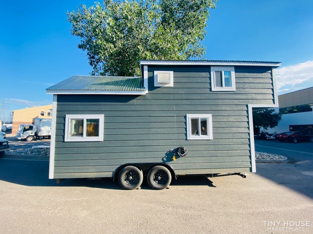 20' x 8' Tiny House   No Credit Check   0% Interest Financing - Slide 1