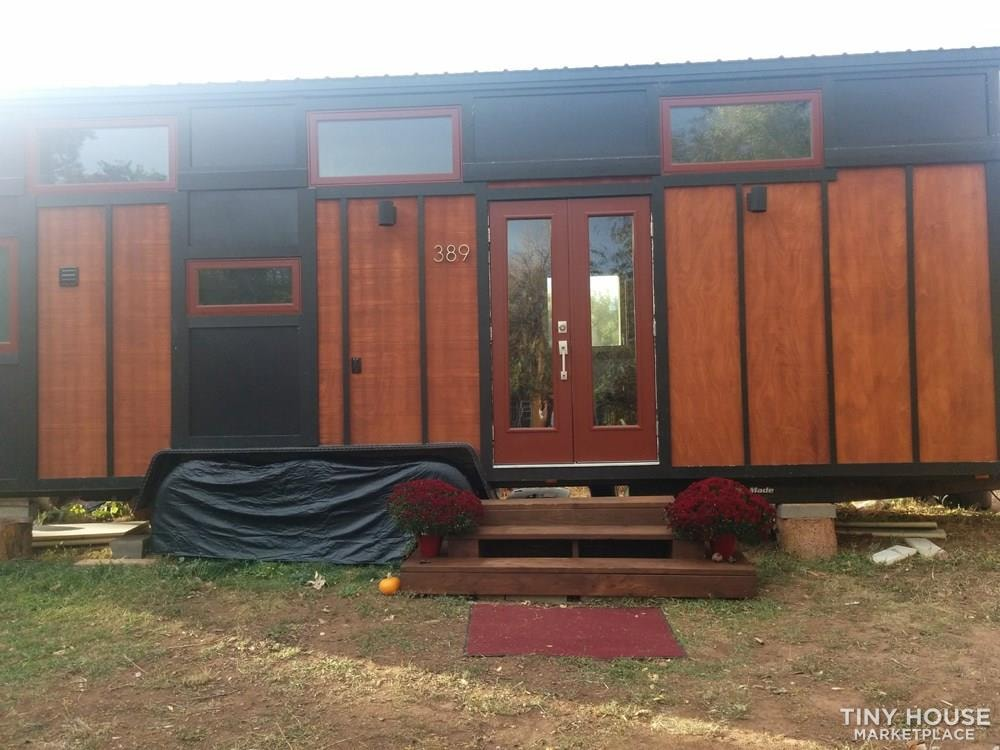28ft by 8.5ft Tiny House for Sale - PRICE TO SELL! $40k includes all belongings! - Slide 1