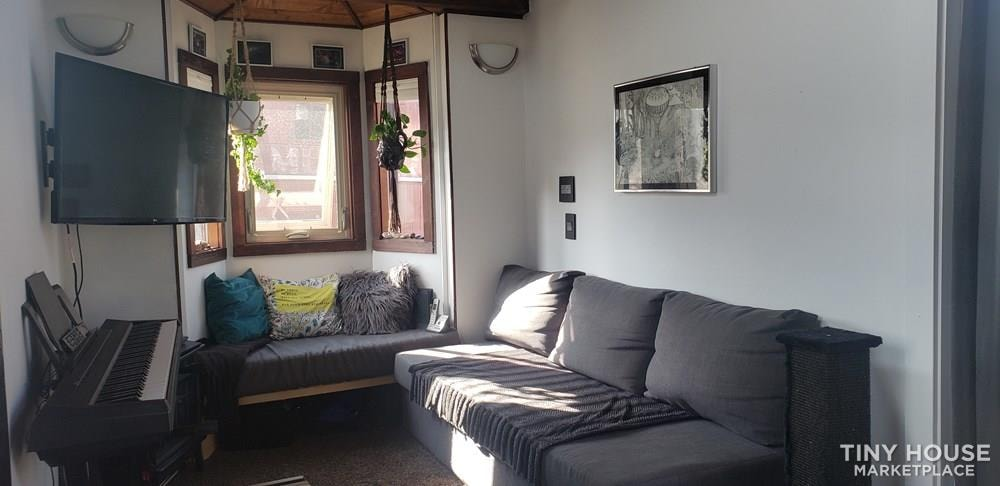 28ft by 8.5ft Tiny House for Sale - PRICE TO SELL! $40k includes all belongings! - Slide 2