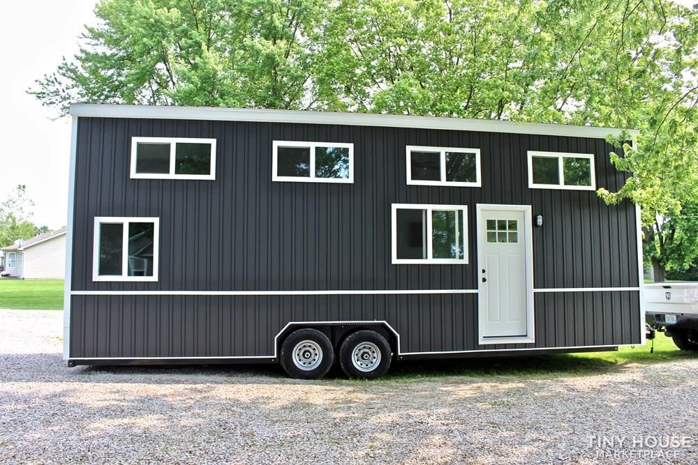 30' Humble Shack Tiny House on Wheels - Slide 1
