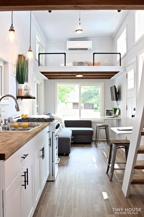 30' Humble Shack Tiny House on Wheels - Slide 2
