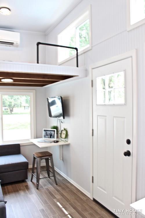 30' Humble Shack Tiny House on Wheels - Slide 12