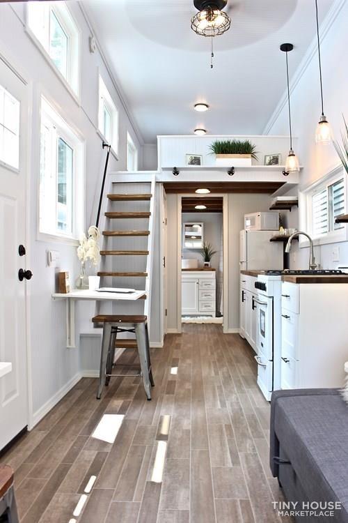 30' Humble Shack Tiny House on Wheels - Slide 16