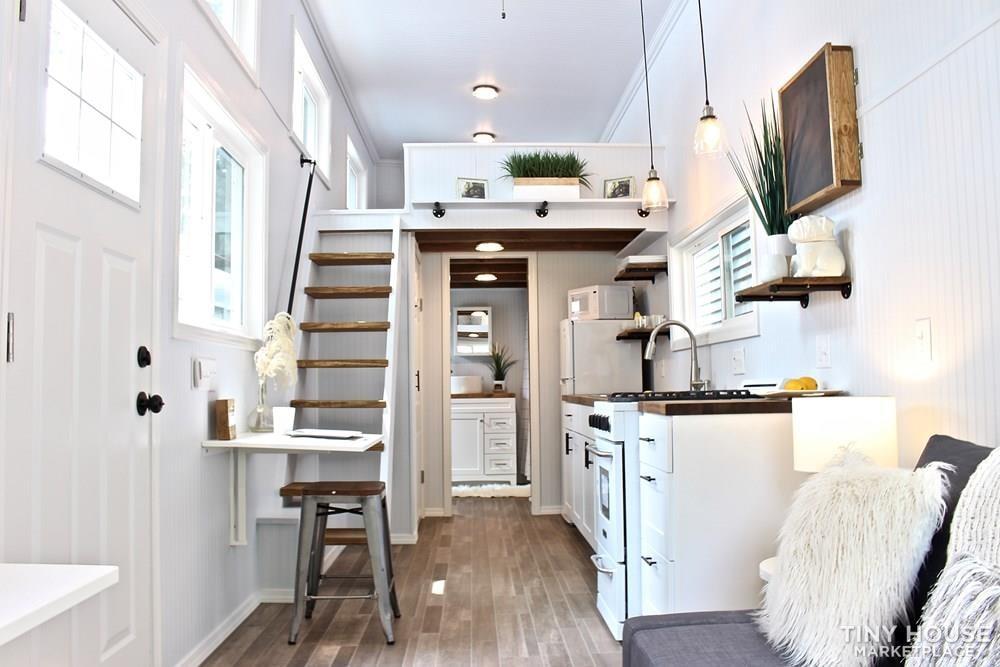 30' Humble Shack Tiny House on Wheels - Slide 17