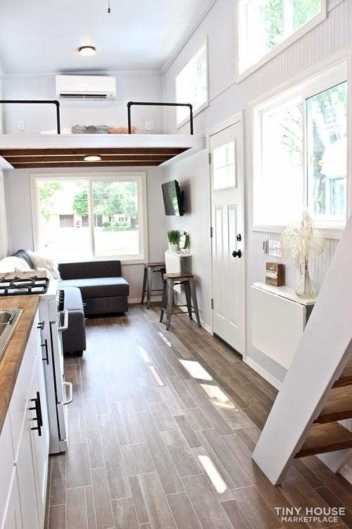 30' Humble Shack Tiny House on Wheels - Slide 42