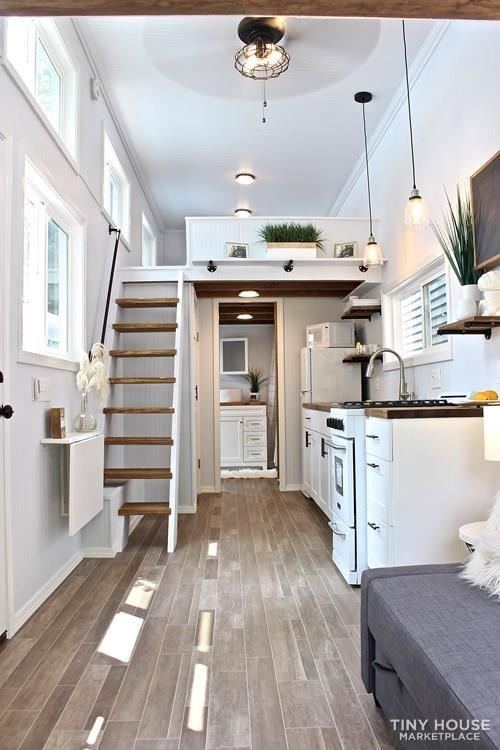 30' Humble Shack Tiny House on Wheels - Slide 45