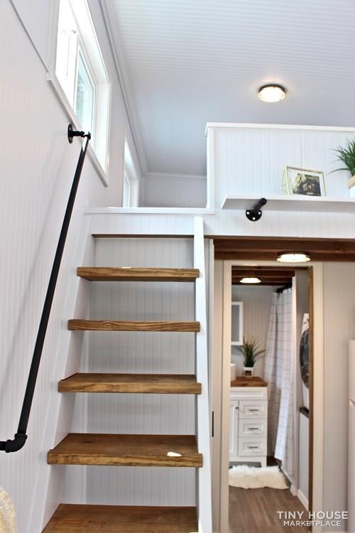 30' Humble Shack Tiny House on Wheels - Slide 50