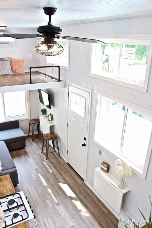 30' Humble Shack Tiny House on Wheels - Slide 57