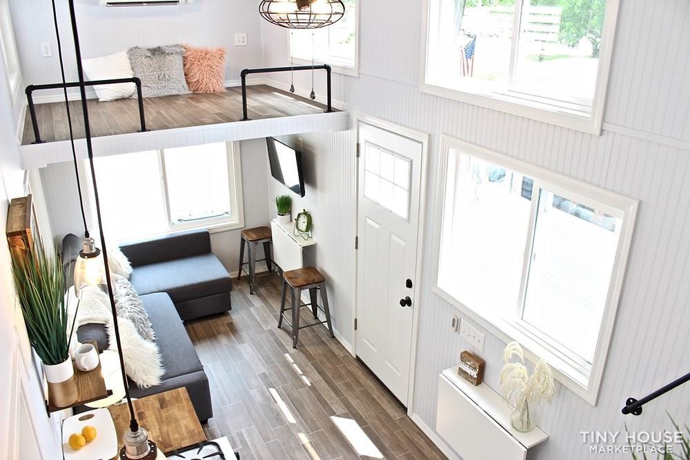 30' Humble Shack Tiny House on Wheels - Slide 58