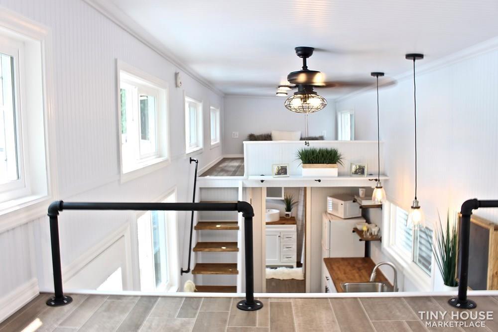 30' Humble Shack Tiny House on Wheels - Slide 64