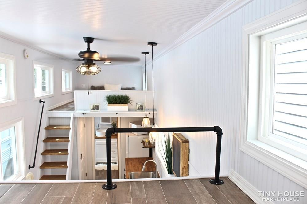 30' Humble Shack Tiny House on Wheels - Slide 65